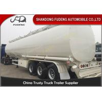 Quality 60000 Liters fuel tank truck trailer for edible cooking oil delivery sale for sale