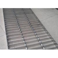 China Durable Stainless Steel Bar Grating , Acid Pickling Steel Catwalk Grating wholesale