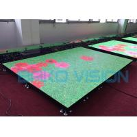 China P3.91 Outdoor Dance Floor LED Display T Stage Show Bearing 1.8 Tons For Stage wholesale