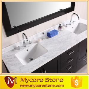 China Cheap granite Double sink granite vanity tops on sale
