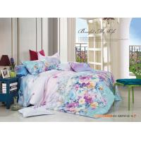 China Colorfule 4 Piece Bedroom Bedding Sets , Butterfly / Flower Printed Bedding Sets wholesale