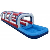 China inflatable tropical slide, best sale outdoor inflatable slip slide wholesale