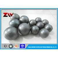China HS 732611 HRC 58 - 68 Grinding Balls For Mining , ball mill grinding balls wholesale