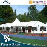 Quality Hot Sale Outdoor Event Tents Colorful Roof Lining Curtain Flooring For Activities for sale