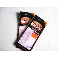 China south Africa Chilli biltong stand up bags with zipper with Euro slot and tear notch wholesale
