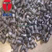 China TLN06-02R TCT06-02R Thread Elbow Connector Carbon  steel tubes fitting fit for oiled tubes wholesale