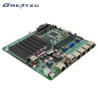 China 12V Mini Itx Fanless Motherboard With 4 GBe Ethernet Intel , Support 1080P wholesale