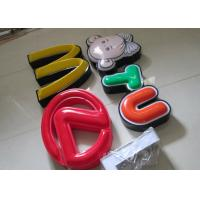 China Illuminated Channel Letters Metal Returns With Formed Face / Outdoor Signage wholesale