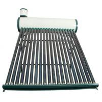 China CE household Non-pressurzied solar hot water heater galvanized steel series wholesale