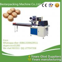 China sesame rolls Flow wrapper packaging machine from Bestar packing coco wholesale