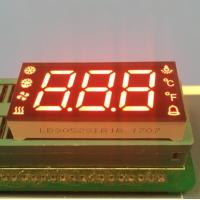 Quality Custom 7 Segment LED Display For Temperature Humidity Defrost Compressor Fan Status Indicator for sale