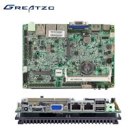 China 3.5 inch Intel ATOM Dual LAN Motherboard Dual Core With 6 COM LVDS SATA wholesale