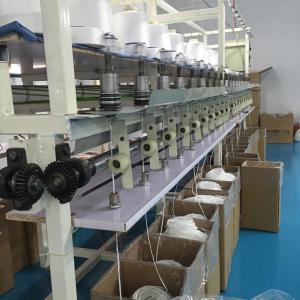 China 5m Nylon Round Elastic Ear Loop Shuttleless Weaving Without Logo Printing wholesale