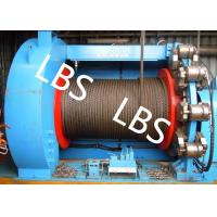 China Lebus Grooves Offshore Winch Oil Well Drilling Rig Parts Winch With Brake Disc wholesale