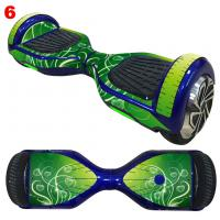 China 6.5 Inch Hoverboard Scooter Sticker Electric Scooter Parts , Fashion Paper Design wholesale