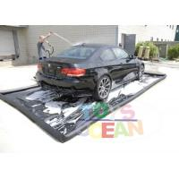 China Heavy Duty Inflatable Car Wash Mat Water Collector Boarding For Dirty Oil Collect wholesale