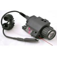 China Laser speed Red Combo LED Flashlight with Quick Rail Mount gun sight wholesale