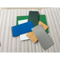 China Pearl Blue PVDF Aluminum Composite Panel Heat Insulation For Wall Cladding wholesale