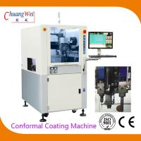 Quality Double Nozzle PCBA Conformal Coating Machine With 0.02mm Precision for sale