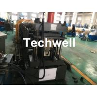 China Top Purlin GI Carbon Steel Cold Roll Forming Machine 0-15m/Min 15KW wholesale
