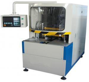 Wholesale 380V 50Hz Vinyl UPVC Window Machine , CNC Corner Cleaning Machine 100mm Width from china suppliers