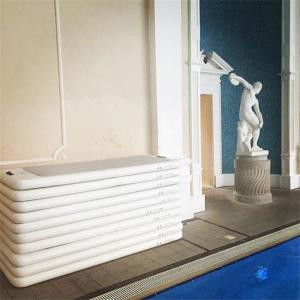 China Digital / Silk Printed Pool Workout Mat , Aqua Fitness Mat Long Lifespan wholesale