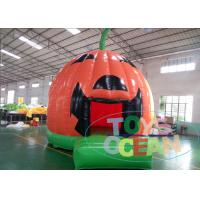 China Pumpkin Shaped Kids Inflatable Bounce House For Party Event 2 Years Warranty wholesale