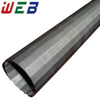 China Stainless Steel OD 254mm Wedge Wire Screen (Length up to 12m) wholesale