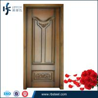 China Top selling high end customed solid wooden doors for room on sale