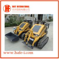 China Small in size   Mini skid steer loader SSL-C300A USA Briggs&Stratton engine(23hp), bucket 0.15m3, track with bucket on sale