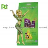 China Special Shape Cardboard Stand Up Display For Children With Die Cut wholesale
