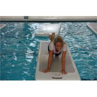 China Full Size Aqua Physical Mats , Floating Water Mat For Pool Wear Resistance wholesale