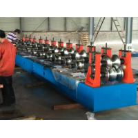 Buy cheap Freeway Barrier Profile Roll Forming Machine Cold Bending Use Multi-rollers Stations by Huge Power 45 Kw Motor from wholesalers