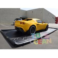 China Commercial PVC Portable Water Containment / Water Reclamation Mat For Washing Car wholesale