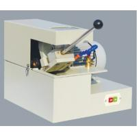 China Manual Abrasive Cutter Cutting diameter Ø30mm Metallographic Equipment Abrasive Cutting Machine With Cooling System wholesale
