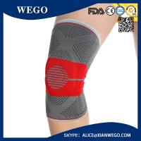 Buy cheap Compression Full Knee Support Brace Sleeve Silicone Padded Pain Relief Gym Sport from wholesalers
