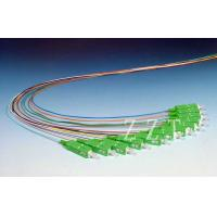 China 12 Core IEC LC Fiber Optic Pigtail 9 / 125 , 0.3dB Insertion Loss wholesale