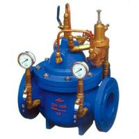 China Differential Pressure Reducing Valves GB/T 13927 API598 / Bypass Balancing Valve on sale