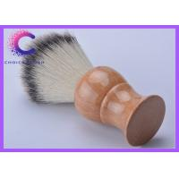 Quality Synthetic shave brushes wooden handle shaving razor brushes for men's grooming for sale