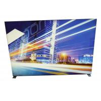 China Image Display Frameless Fabric LED Light Box 9cm Width With Soft PVC Strentch Film wholesale
