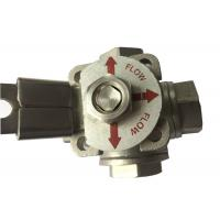 """China CF8M  Stainless Steel 3 way ball valve """"T"""" type and """"L"""" Type Flow Control wholesale"""