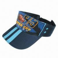 China Summer Sun Visor Cap, Made of Cotton wholesale