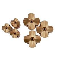 Buy cheap Rock Drilling Tools good quality Tungsten Carbide Tapered Cross drill Bit from wholesalers
