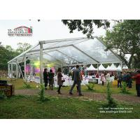 China 20m Width Outdoor Marquee Trade Show Tent with Transparent Roof Cover wholesale