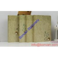 China Hot sale New fashion design female hardcover paper notebook for promotion wholesale