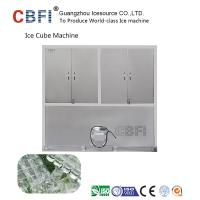 China 304 Stainless Steel Industrial Ice Cube Making Machine R22 Refrigerant wholesale