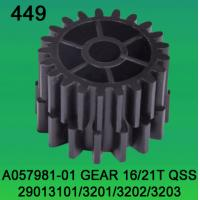 China A057981-01 GEAR TEETH-16/21 FOR NORITSU qss2901,3101,3201,3202,3203 minilab wholesale