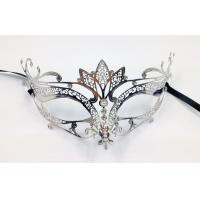 China Venice Mask Metal Mask with Swarovski crystals PF3020D wholesale