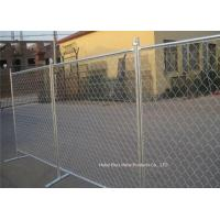 China Outdoor Temporary Construction Fence Chain Link Fencing For Construction Protection wholesale