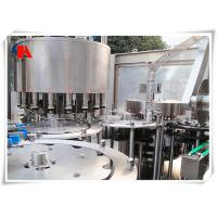 China Liquid Washing Filling Capping Machine , Industrial Bottle Filling Machine 5.6KW Power wholesale